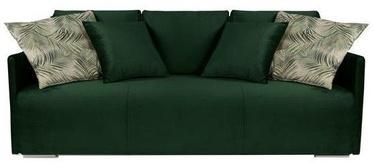 Диван-кровать Black Red White Clarc II Lux 3DL Green, 217 x 115 x 92 см