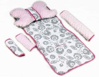Babylove Stroller Set Pink/Grey 95222