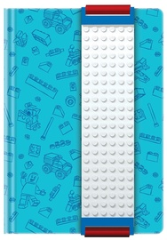 LEGO Journal With White Band Blue 51523