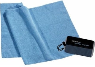 Cocoon Microfiber Terry Towel Blue M
