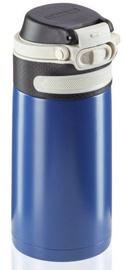 Leifheit Flip Insulated Mug 350ml Dark Blue