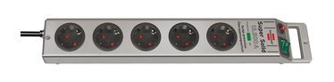Brennenstuhl Power Strip 5-Outlet 230V 16A 2.5m Grey