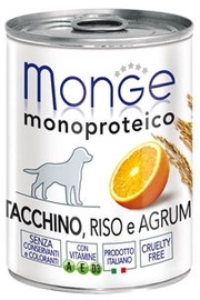Monge Monoproteinic Fruits Pate Turkey/Citrus 400g