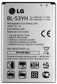 LG Original Battery For D855 Optimus G3 Li-Ion 3000mAh MS