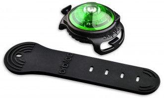 Orbiloc Dog Dual Safety Light Black/Green