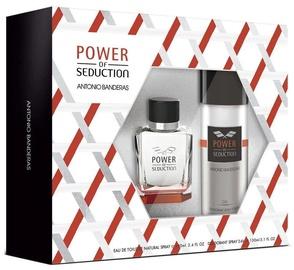 Antonio Banderas Power Of Seduction 100ml EDT + 150ml Deodorant Spray