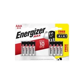PATAREI ENERGIZER MAX LR03 AAA 4 PLIUS 4