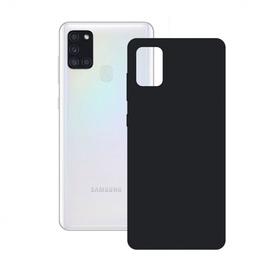 Ksix Silk Back Case For Samsung Galaxy A21s Black
