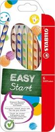 Stabilo Easy Colors Left Handed Pencils 6pcs
