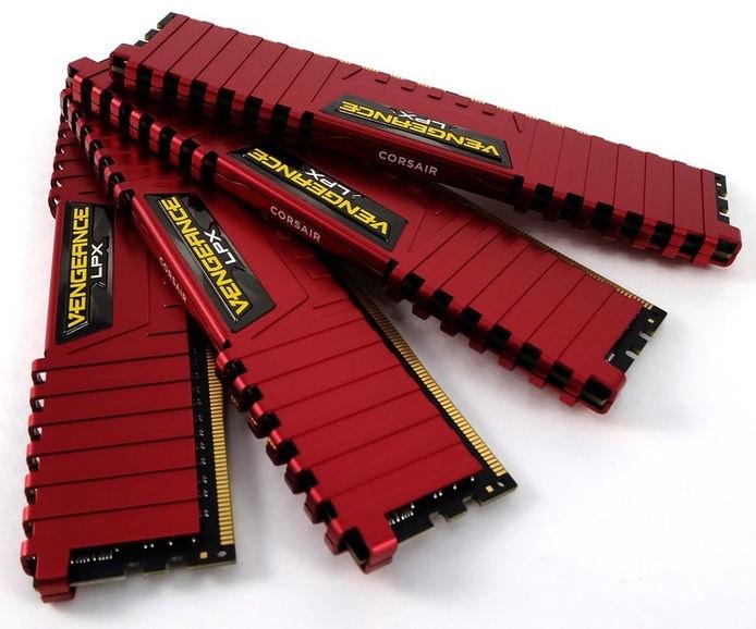 Corsair Vengeance LPX 32GB 3000MHz DDR4 C15 DIMM KIT OF 4 CMK32GX4M4C3000C15R