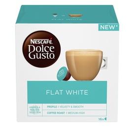 Kohvikapslid Nescafe Dolce Gusto Flat White, 187 g., 16 tk.