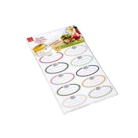 Bormioli Self-Adhesive Labels 30pcs