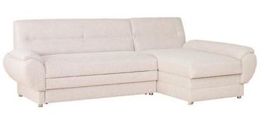 Угловой диван Bodzio Livonia Fabric Cream, правый, 248 x 155 x 89 см