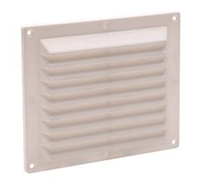 Ventilatsioonirest Vagner ABS 146x175 mm, valge
