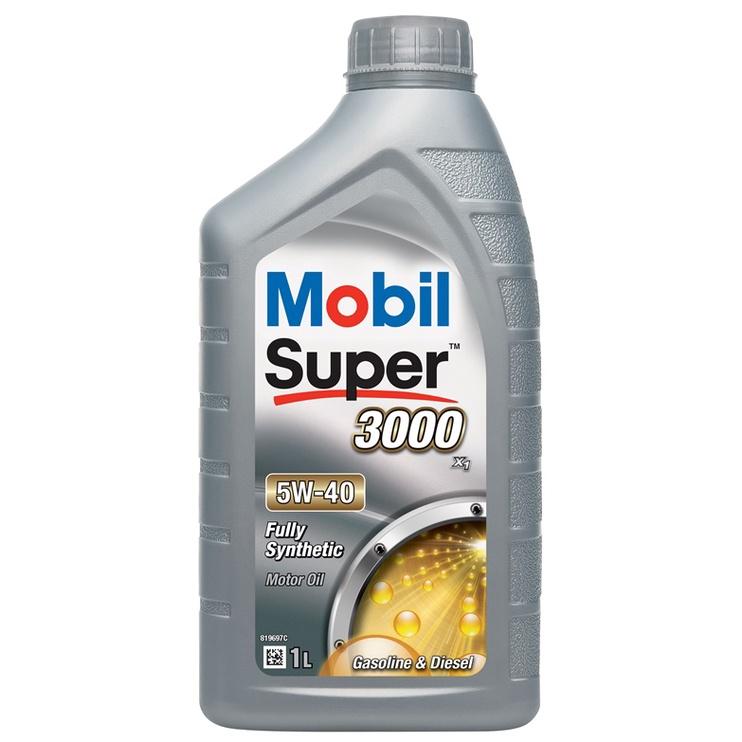 Mootoriõli Mobil Super 3000x1 5W-40 1l