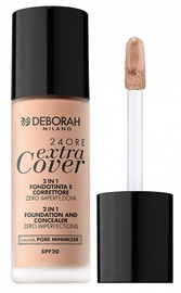 Deborah Milano 24Ore Extra Cover Foundation SPF20 30ml 02