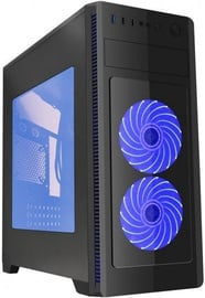 Gembird ATX Case Fornax 1000 Blue LED