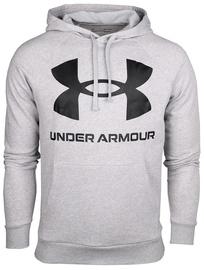 Under Armour Rival Fleece Big Logo Hoodie 1357093-011 Grey L