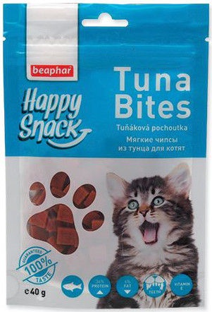 Beaphar Happy Snack Tuna Bites 40g