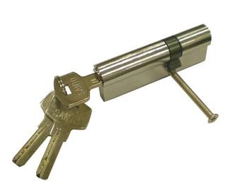 Lukusüdamik Vagner SDH 85, 30 x 55 mm, messingeeritud, su 5 võtmega
