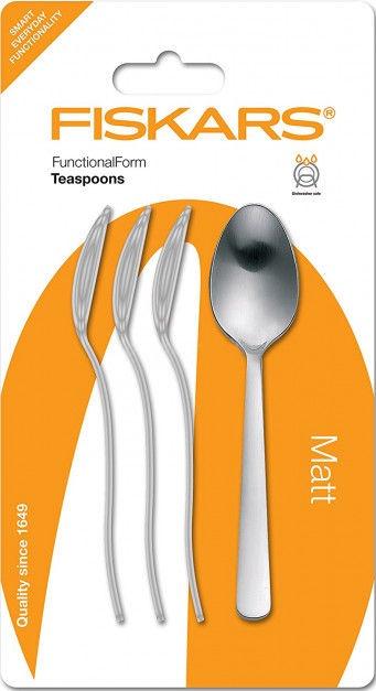 Fiskars Functional Form Coffee/Teaspoons Matt Set Of 4 1002955