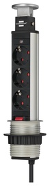 Brennenstuhl Power Strip 3 Outlet Black