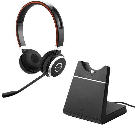 Kõrvaklapid Jabra Evolve 65 UC Black, juhtmevabad