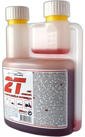 AutoDuals 2T-mix Semi-Synthetic Oil with Dosator Red 0.5l