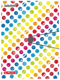Herlitz Wallet Folder A4 SmileyWorld Rainbow 50002092