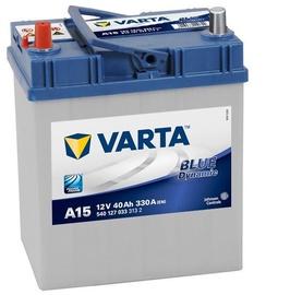 Аккумулятор Varta Blue Dynamic A15, 12 В, 40 Ач, 330 а