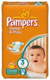 Pampers Sleep&Play 58