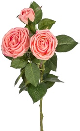 Home4you Artificial Flower Rose Pink