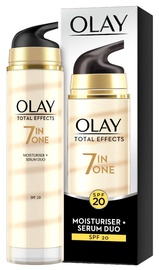 Olay Total Effects 7in1 Moisturiser + Serum Duo SPF20 40ml