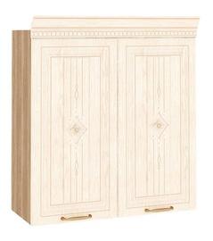 DaVita Šarlotta 73.11 Kitchen Upper Cabinet Sonoma Oak/Beige