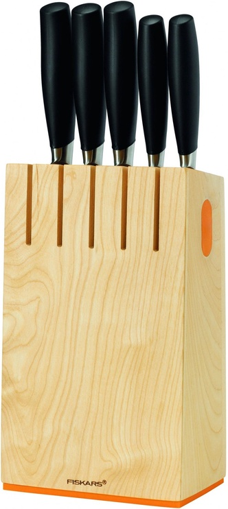 Fiskars Functional Form+ 1016004 Knife Block with 5 Knives