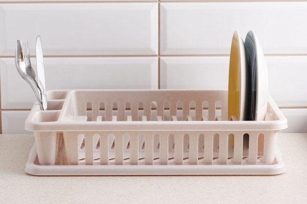 Curver Dish Dryer 26,5x42x8,8cm Beige