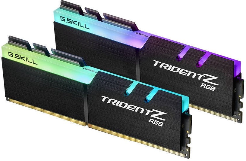 G.SKILL Trident Z RGB 32GB 3466MHz CL16 DDR4 KIT OF 4 F4-3466C16Q-32GTZR