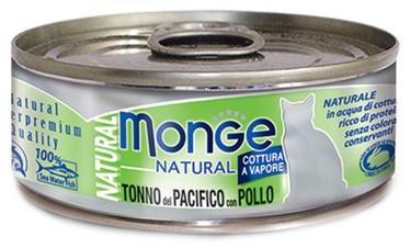 Monge Natural Yellowfin Tuna With Chicken 80g