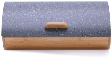 DecoKing Cosmic Bread Box Grey Marble
