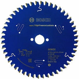 Bosch 2608644133 Circular Saw Blade High Pressure Laminate 165x20mm