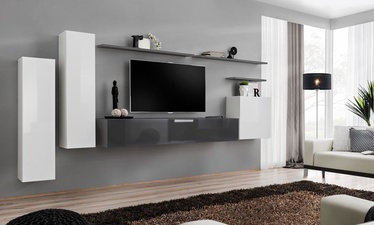 ASM Switch I Wall Unit Graphite/White