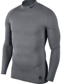 Nike Men's T-shirt Pro Cool Compression Mock LS 838079 091 Gray M