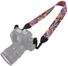 Fotocom Camera Strap Rainbow