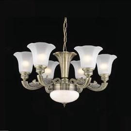 LAELAMP A1673-6 6X60W 1X12W LED