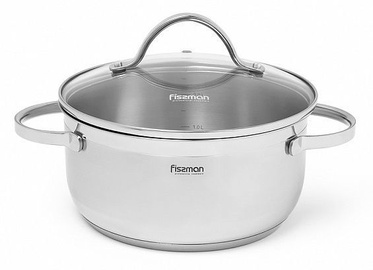 Fissman Luminosa Casserole With Glass Lid D26cm 7.1l