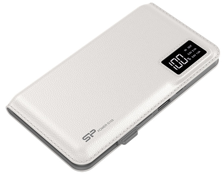 Väline aku Silicon Power S103 White, 10000 mAh
