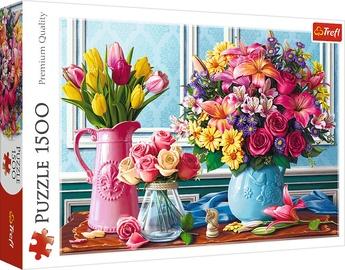 Trefl Puzzle Flowers In Vases 1500pcs 26157