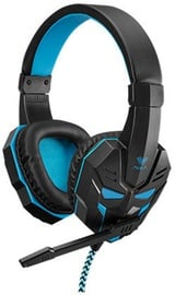 Aula Prime Basic Gaming Headphones w/ Mic Black/Blue