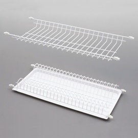 Rejs Dish Dryer Rack White 65.5x25.2x6.4cm