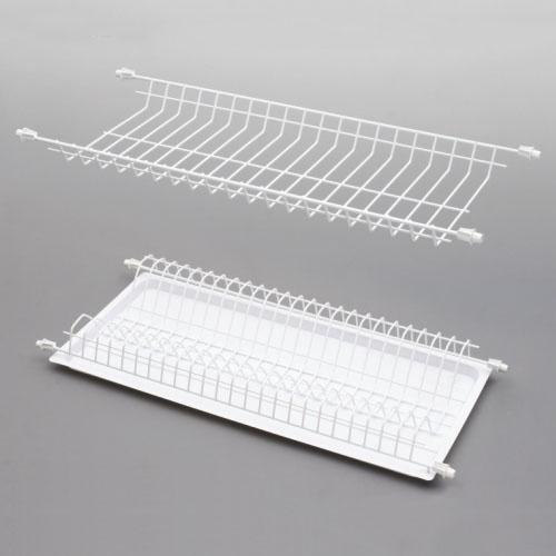Rejs Dish Dryer Rack White 65.5x25.2x6.4cm
